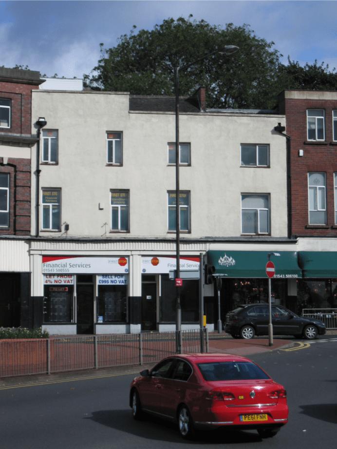 1a/1b Mill Street, Cannock, Staffordshire WS11 0DP